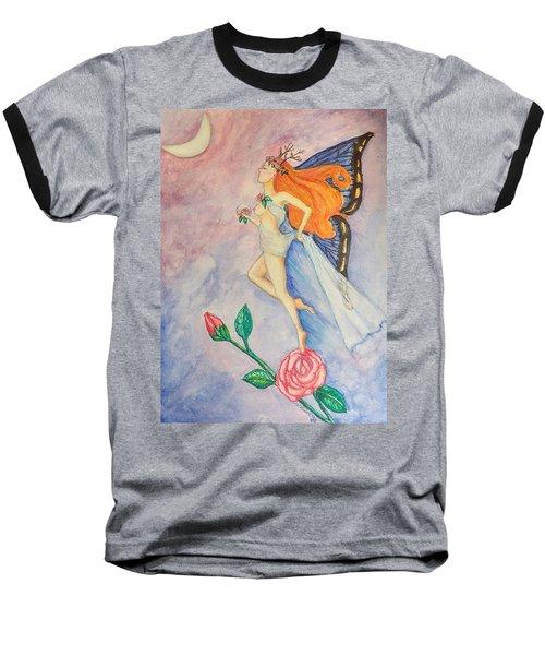Blue Moon Dancer Baseball T-Shirt