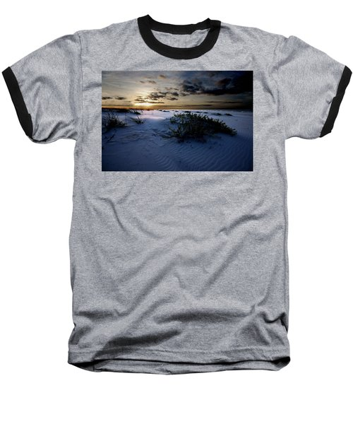 Blue Morning Baseball T-Shirt