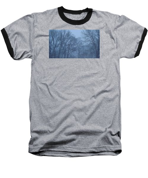 Baseball T-Shirt featuring the photograph Blue Morning Mist by Don Koester