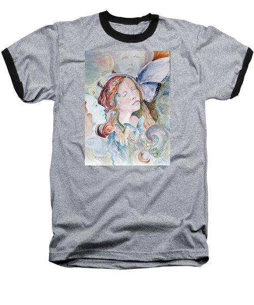 Blue Morpho Baseball T-Shirt