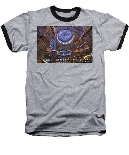 Blue Mosque Baseball T-Shirt