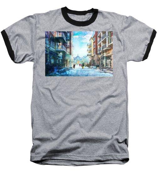 Blue Mountain Village, Ontario Baseball T-Shirt