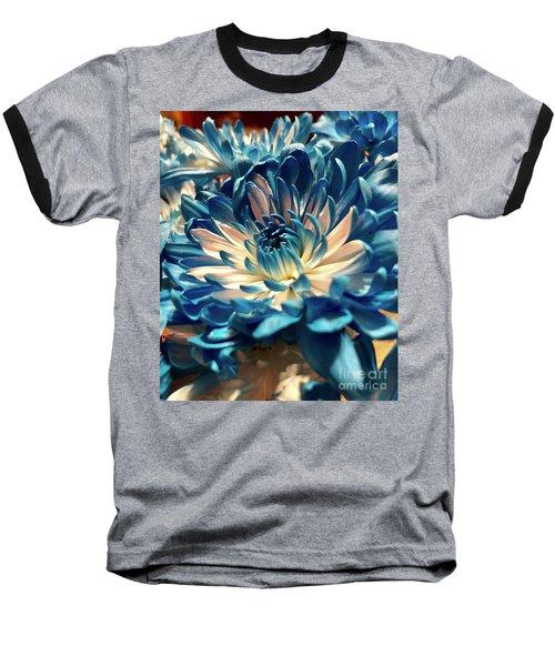 Blue Mum Baseball T-Shirt