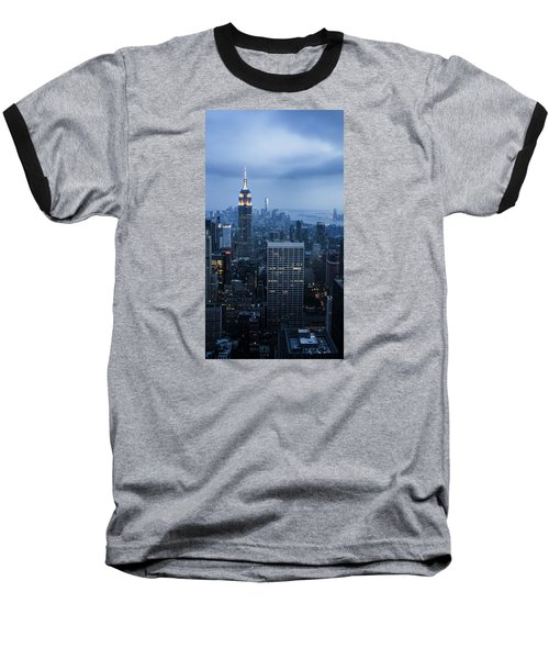 Blue New York Baseball T-Shirt