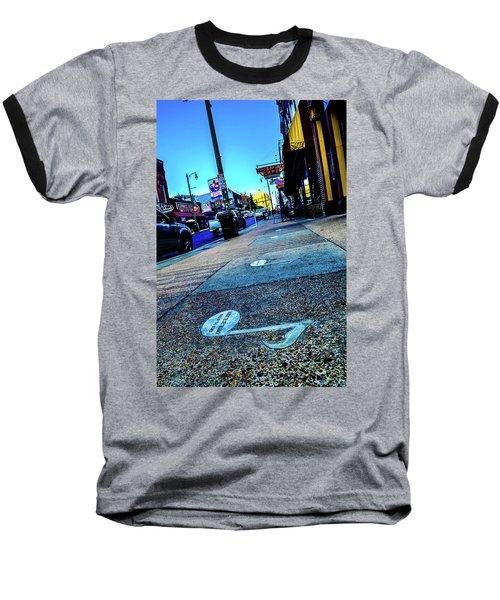 Blue Notes On Beale Baseball T-Shirt