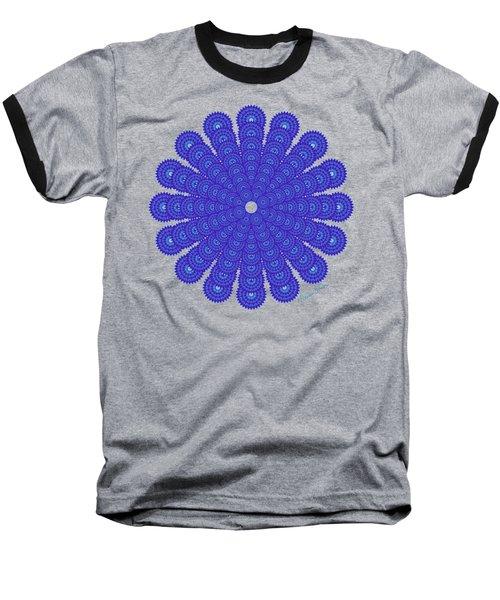 Blue Obsession Baseball T-Shirt