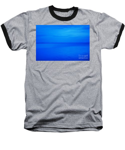 Blue Ocean Twilight Baseball T-Shirt