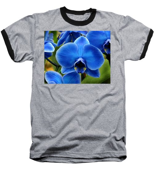 Blue Orchid Baseball T-Shirt