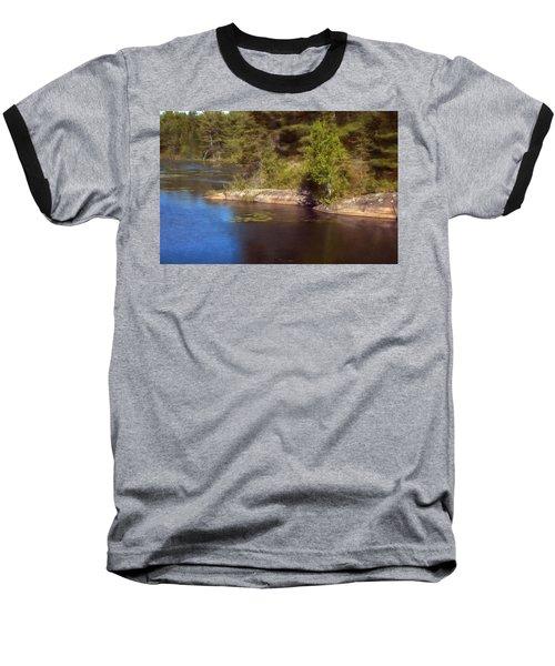 Blue Pond Marsh Baseball T-Shirt