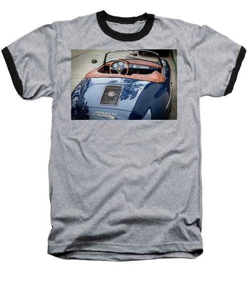 Blue Porche 356 Baseball T-Shirt