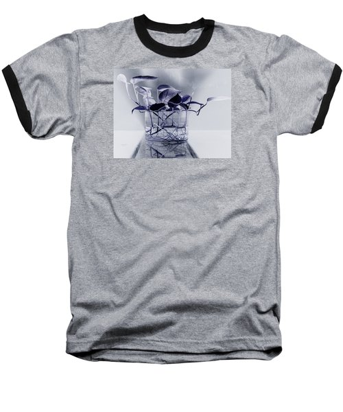 Blue Baseball T-Shirt by Rajiv Chopra