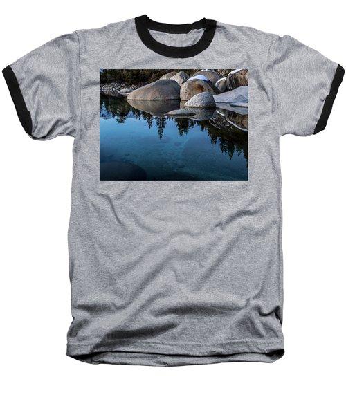 Blue Reflections Baseball T-Shirt