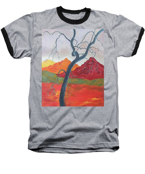 Blue Retama Baseball T-Shirt