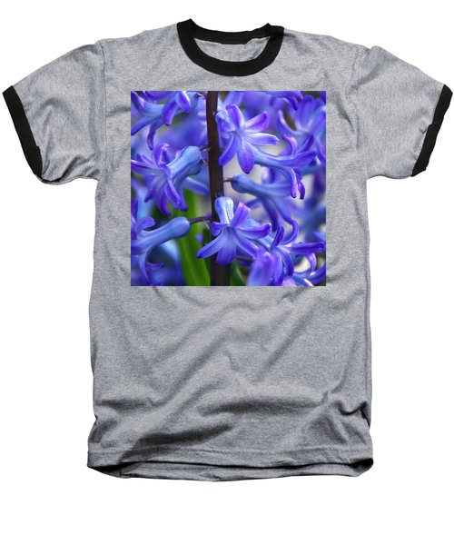 Baseball T-Shirt featuring the photograph Blue Rhapsody by Byron Varvarigos