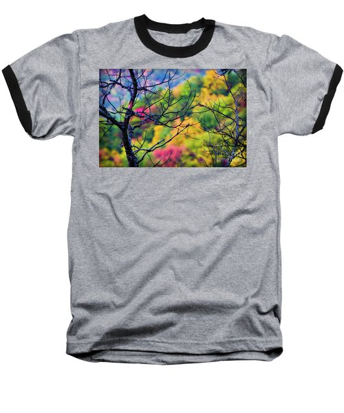 Blue Ridge Autumn Baseball T-Shirt