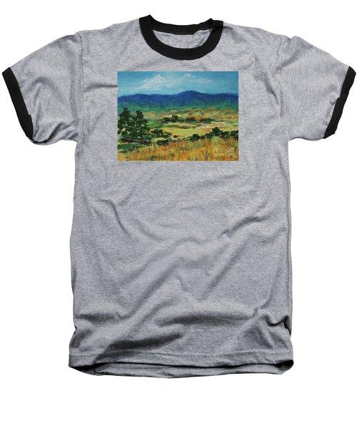 Blue Ridge Baseball T-Shirt by Gail Kent