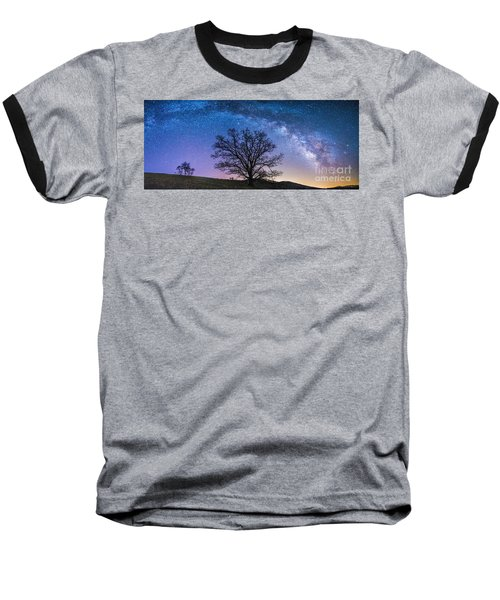 Blue Ridge Milkyway Baseball T-Shirt by Robert Loe