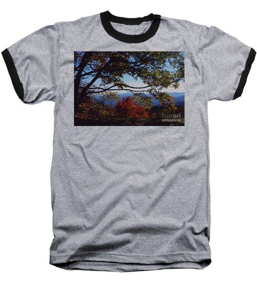 Blue Ridge Mountain View Baseball T-Shirt