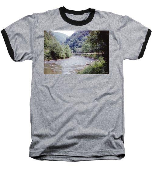 Blue Ridge Mountains 8 Baseball T-Shirt