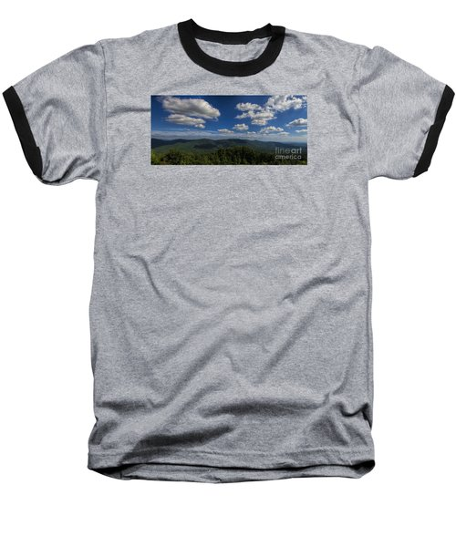 Baseball T-Shirt featuring the photograph Blue Ridge Mountains by Barbara Bowen