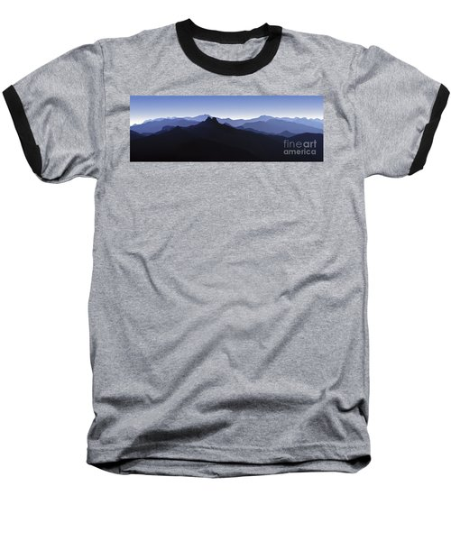 Baseball T-Shirt featuring the photograph Blue Ridge Mountains. Pacific Crest Trail by David Zanzinger