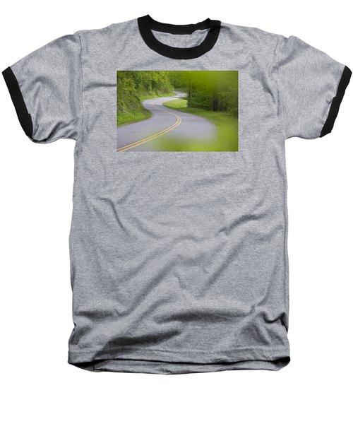 Blue Ridge Parkway Baseball T-Shirt