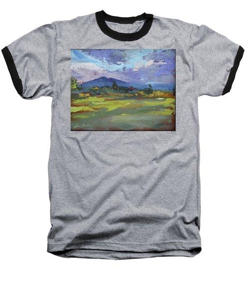 Blue Ridge Parkway Lookout Baseball T-Shirt