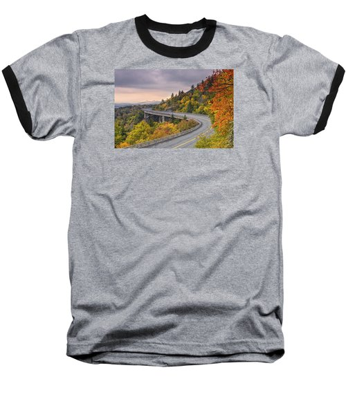 Lynn Cove Viaduct-blue Ridge Parkway  Baseball T-Shirt