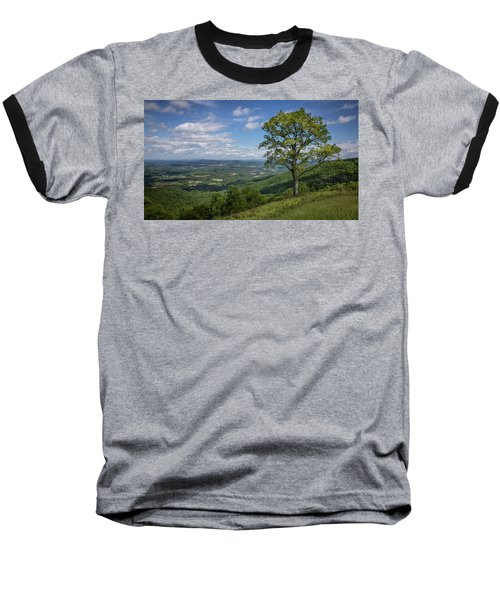 Blue Ridge Parkway Scenic View Baseball T-Shirt
