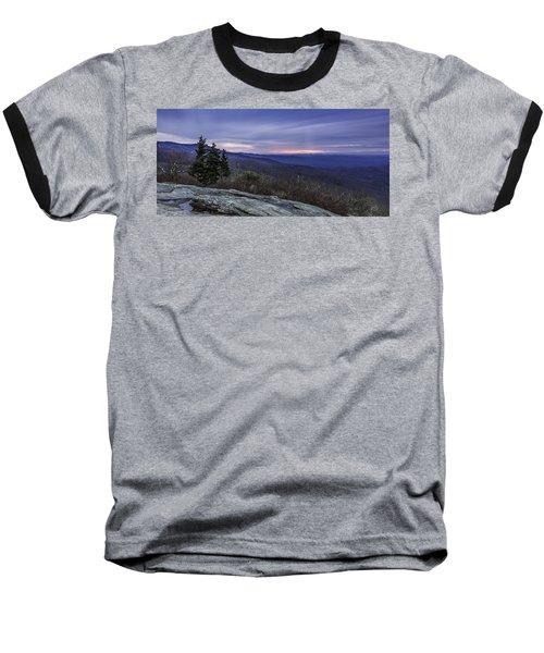 Blue Ridge Parkway Sunrise Baseball T-Shirt