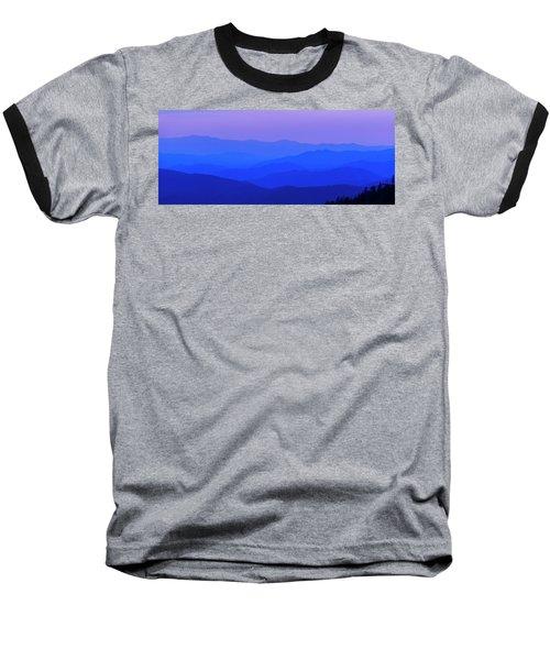 Blue Ridge Spring 08 Baseball T-Shirt by Kevin Blackburn