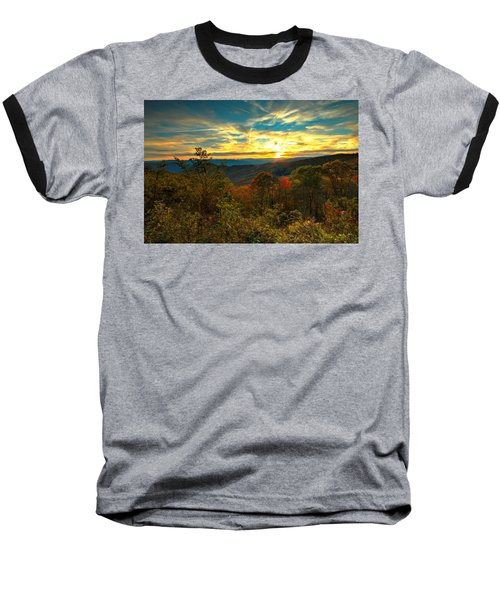 Blue Ridge Sunsets Baseball T-Shirt