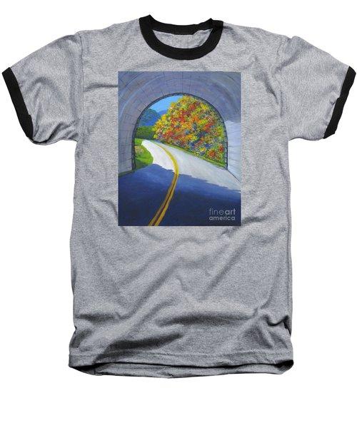 Blue Ridge Tunnel Baseball T-Shirt