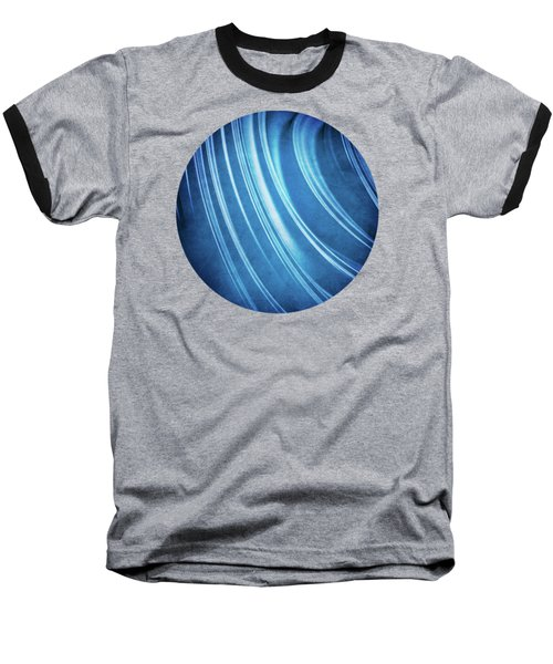 Blue Ridges Fractal Baseball T-Shirt