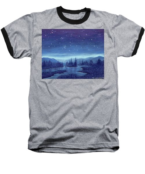 Blue River 01 Baseball T-Shirt