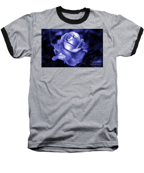 Blue Rose Baseball T-Shirt
