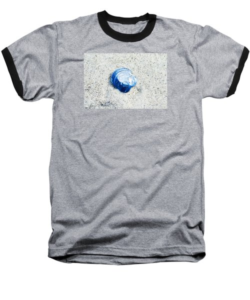 Blue Seashell By Sharon Cummings Baseball T-Shirt