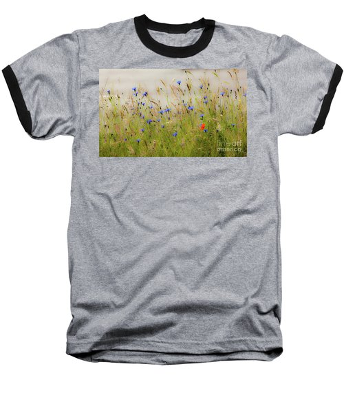 Blue Serenade Baseball T-Shirt