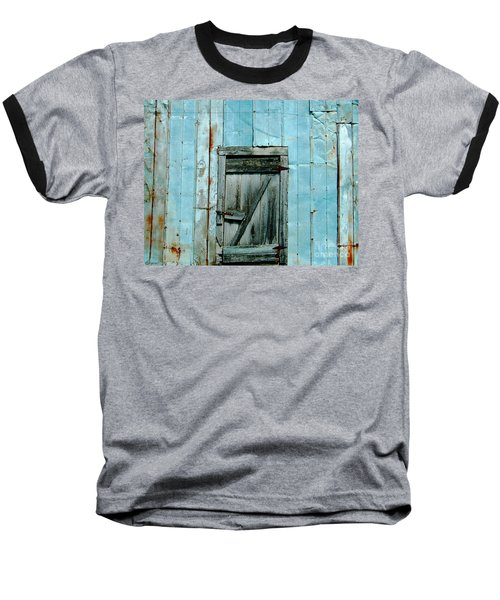 Blue Shed Door  Hwy 61 Mississippi Baseball T-Shirt