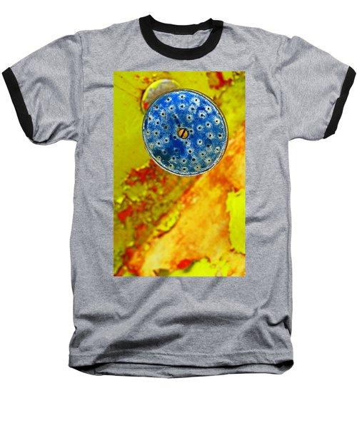 Blue Shower Head Baseball T-Shirt