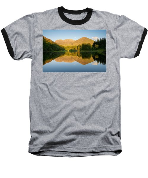 Blue Skies At Torren Lochan Baseball T-Shirt