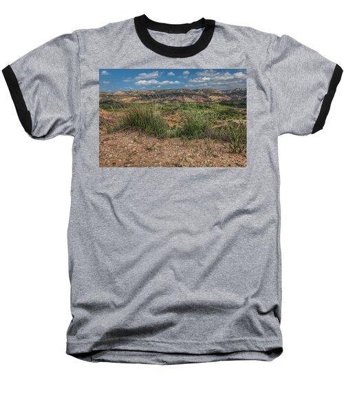 Blue Skies Over Palo Duro Canyon Baseball T-Shirt