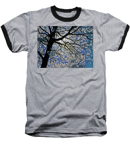 Baseball T-Shirt featuring the photograph Blue Skies Smiling At Me by Linda Unger