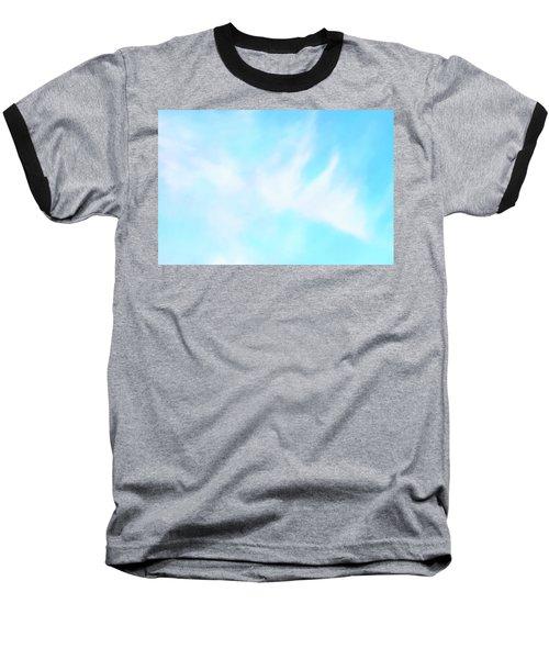 Blue Sky Baseball T-Shirt by Anton Kalinichev
