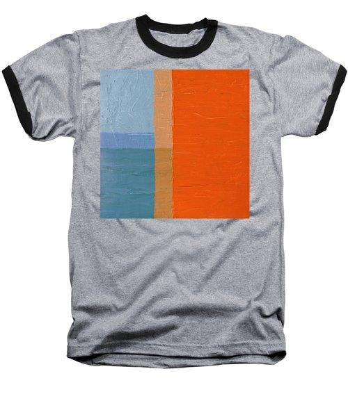 Blue Sky Around The Corner Baseball T-Shirt
