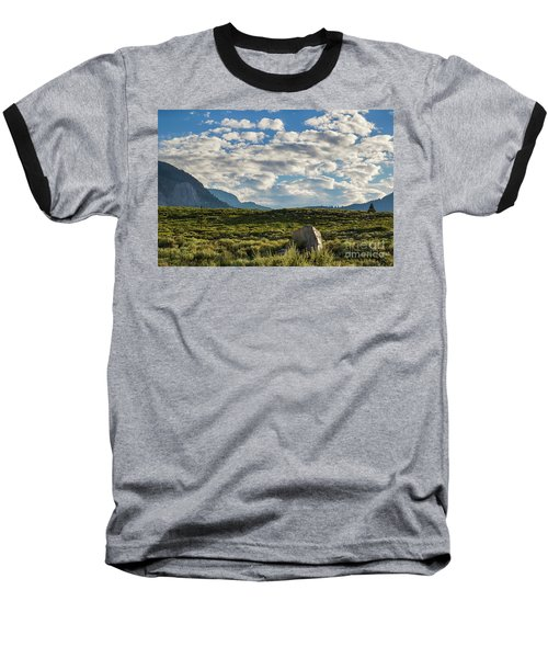 Blue Sky Monmouth  Baseball T-Shirt