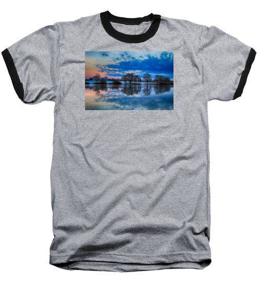 Blue Sky Morning Baseball T-Shirt
