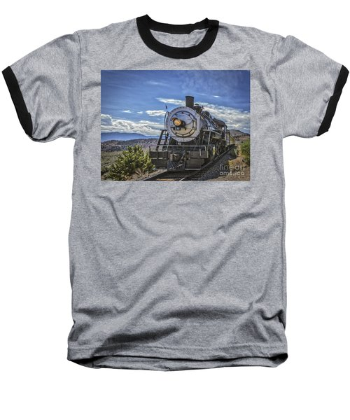 Baseball T-Shirt featuring the photograph Blue Sky Nevada. by Mitch Shindelbower