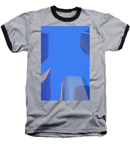 Blue Sky Over Bunker Hill Baseball T-Shirt
