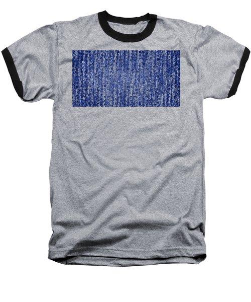 Blue Squared Code Baseball T-Shirt